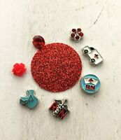 Nurse Floating Charms with Origami Owl Locket Charms