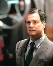 COLIN FIRTH SIGNED THE KINGS SPEECH  PHOTO UACC REG 242 FILM AUTOGRAPHS (1)