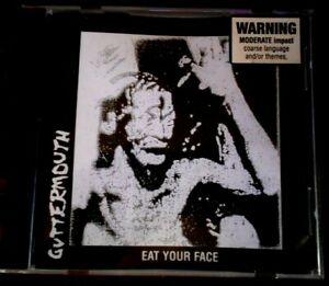 GUTTERMOUTH - EAT YOUR FACE - LIKE NEW MUSIC CD