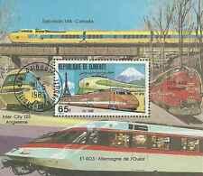 Timbre Trains Djibouti BF38 o réf. Michel lot 364