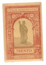 TRENTO Trentino Alto Adige L'Italia Monumentale n. 35 Bonomi 1915 guida