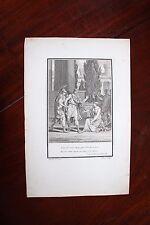 ✒ ca.1802 gravure VOLTAIRE Lois de Minos - par Moreau le jeune - Villerey