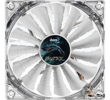 Aerocool Shark Fan 14cm White Edition, Gehäuselüfter (transparent/weiß, 140 mm)