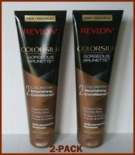 Revlon Conditioner Colorsilk Gorgeous Brunette 2-Pack 8.45 oz Free Priority Ship