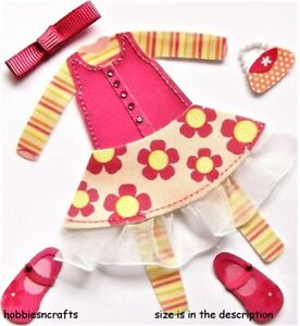 JOLEE'S BOUTIQUE 3-D CRAFT STICKERS SHOES HANDBAG DRESS LITTLE GIRL CLOTHES