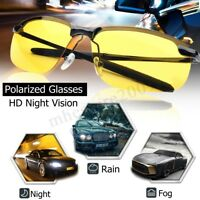 UV400 Night Vision Driving Cycling Riding Glasses Polarized Sunglasses