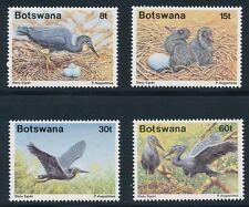 "Botswana #456-9 ""BIRDS: SLATY EGRETS"" (1989); MNH **PRISTINE & COMPLETE SET**"