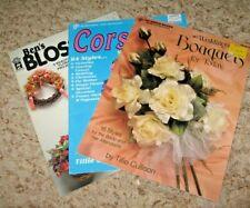 Vintage~Lot Of 3~Wedding Bouquets, Corsages, Blossoms~Gd/Vgc~Lot #G