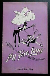 My Fair Lady programme Bristol Hippodrome Theatre ~1963 Tony Britton Jill Martin