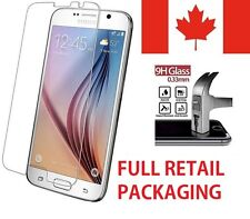 Premium Tempered Glass Screen Protector for Samsung Galaxy S7 w/Retail Packaging