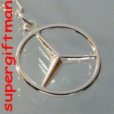R155 - étoile MERCEDES ster -  zilver ARGENT massif 925