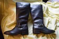 NEW Chaps Black Gen Mid Calf Ladie's Riding Boots Size 7 Women's $99.99