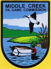 Pa Pennsylvania Game Commission NEW Middlecreek Waterfowl Mgnt Area DECAL