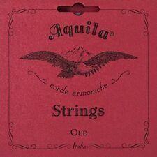 Aquila Oud Strings Iraqi Tuning 11 String s Model 610 Red Nylgut (IRAQI - TUNE)