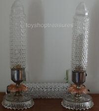 Vintage ART DECO Lamps - Bullet - Sky Scraper Elegant French Paris Apt Style