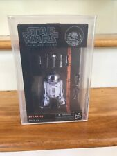"Hasbro Star Wars The Black Series 6"": R2-D2 Action Figure AFA 8.5"