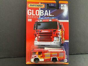 Matchbox Scania P 360 Feu Camion 14/14 HCL41-956B 1/64 ??
