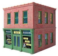 AMERI-TOWNE 825 O Scale Pedicini's Bakery Building Model Kit Railroading Lionel