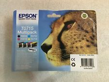 original Epson Multipack T0715 Gepard T0711 T0712 T0713 T0714 OVP mit Rechnung