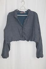 cocon.commerz PRIVATSACHEN  HALTUNGE Jacke aus Leinen in blaugrau Größe 2
