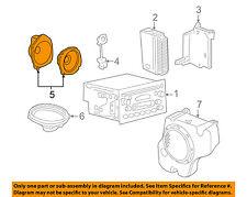 GM OEM Sound System Audio Stereo-Front Door Speaker 25943916