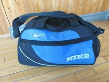 Nike sports bag - Very good condition - Blue + Black - about 18 x 10 x 8 inches