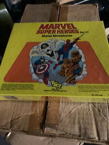 1984 TSR MARVEL SUPER HEROES SET 1 SPIDERMAN