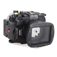 Meikon 40m/130ft Underwater Waterproof Diving Camera Housing case for Sony HX90
