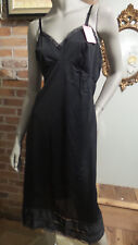 Full Slip ADONNA Nylon Adjustible straps Lace Accents NOS w/ tags Sz 38