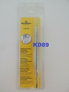 GENUINE Bracelet spring bar tool BERGEON 7767-SF fiting removing spring bar