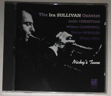 THE IRA SULLIVAN QUINTET NICKY'S TUNE CD