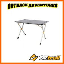 OZtrail Portable Silver Frame Easy Table 4 Outdoor Camping