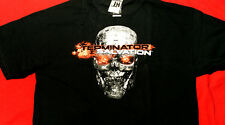 TERMINATOR SALVATION SKULL adult L Large t-shirt - New with tags