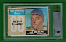 1968 TOPPS JOE MORGAN ALL-STAR #364 BVG 9 MINT