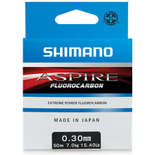 NEW Shimano Aspire Fluorocarbon 3kg 50m 0.20mm ASFLR5020