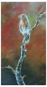 Original Hand Paint Oil Painting Wall Art Home Decor Hand Drawing on Hard Doard