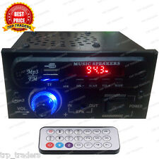 AC/DC Stereo Audio Amplifier MP3 Player Module With Speaker,Card, USB, FM Radio