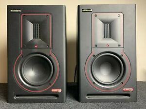 Samson Rubicon R5a studio monitor speakers (pair) - Great Condition, Light Use.