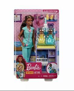 Barbie baby doctor play set