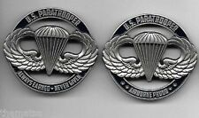 """ARMY PARATROOPER AIRBORNE PROUD ALWAYS EARNED NEVER GIVEN 1.75"""" CHALLENGE COIN"""