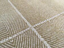Colefax & Fowler Checked Upholstery Fabric- Blakeney Check Sand 3.50 yd F3732-05