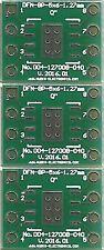 """3 PCS. - DFN8-5x6 1.27mm(0.05"""") naar DIP8 0.4"""" socket. [NL]"""