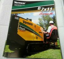 Factory 2004 Vermeer Directional Drilling System Dealership Brochure Manual