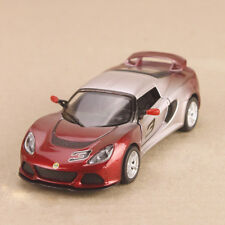 2012 Lotus Exige S Model Car Red Silver Ombre 1:32 12.5cm Die-Cast Pull-Back OLP