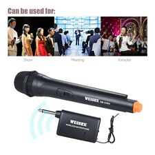 Wireless Microphone Handheld Unidirectional Dynamic Voice Amplifier for Karaoke