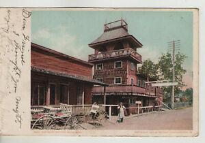 5023. The Biloxi Pottery, Biloxi, Miss. 1907 or Earler George Ohr Pottery MS