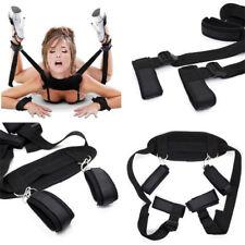 Under Bed Bondage Set Restraint Kit Ankle Cuffs System BDSM Toy For Adult Game