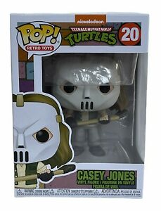 Teenage Mutant Ninja Turtles Casey Jones Funko Pop Vinyl Figure 20 Retro Toys