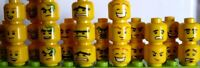 LEGO CHANGEZ DE TÊTES DOUBLE FACE HOMMES MINIFIGURES SERIE LOT - NEUF !