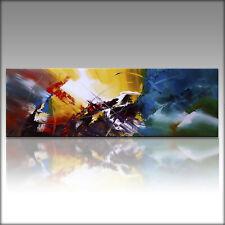 Vnartist / ORIGINAL 150cm x 50cm Abstrakt Gemälde Modern XXL Bilder 568